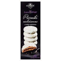 Z serca fabryki Pierniki nadziewane w białej czekoladzie smak czarnej porzeczki