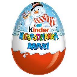 Niespodzianka Maxi Słodkie jajko z niespodzianką pokryte czekoladą mleczną