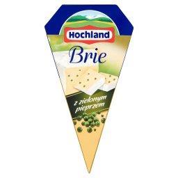 Brie z zielonym pieprzem Ser