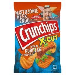 X-Cut Chipsy ziemniaczane grubo krojone o smaku kurczaka w ziołach