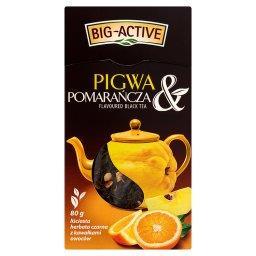 Pigwa & Pomarańcza Liściasta herbata czarna z kawałkami owoców