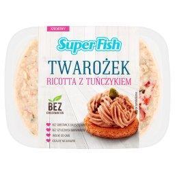 Twarożek ricotta z tuńczykiem