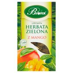 Herbata zielona liściasta z mango