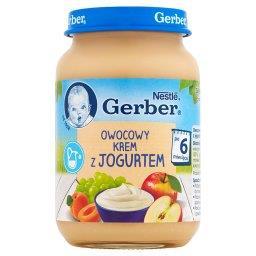 Owocowy krem z jogurtem po 6 miesiącu