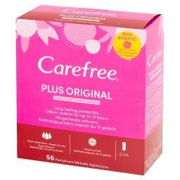 Plus Original Wkładki higieniczne świeży zapach 56 sztuk
