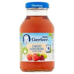 100% sok jabłko winogrona po 4. miesiącu