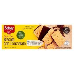 Biscotti Bezglutenowe herbatniki z gorzką czekoladą