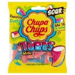 Mini Tubes Kwaśne żelki o smaku owocowym