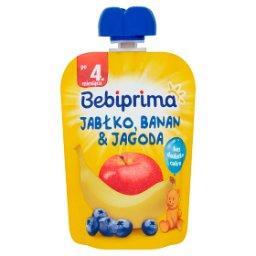 Mus owocowy po 4. miesiącu jabłko banan & jagoda