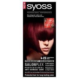 SalonPlex Farba do włosów Czerwień marsala 4-23