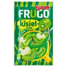 Kubek Frugo Kisiel z kawałkami owoców smak kiwi