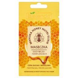 Manuka Honey Nutri Elixir Maseczka odżywczo-nawilżająca 8 g