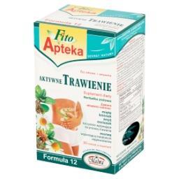 Formuła 12 Aktywne Trawienie Suplement diety Herbatka ziołowa 40 g (20 torebek)