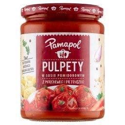 Pulpety w sosie pomidorowym z marchewką i pietruszką