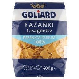 Makaron z pszenicy durum łazanka