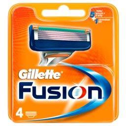 Fusion Ostrza wymienne do maszynki do golenia, 4 sztuki