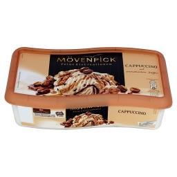 Lody o smaku mlecznym i lody espresso z kawałkami czekolady z kawą