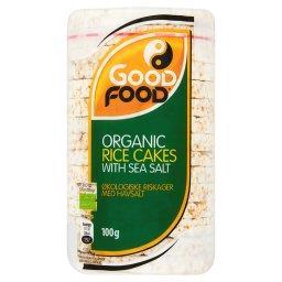 Bio Wafle ryżowe z solą morską  (14 sztuk)