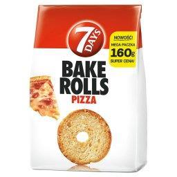 Bake Rolls Chrupki chlebowe o smaku pizzy