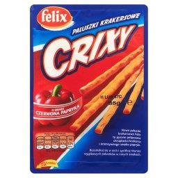 Crixy Paluszki krakersowe o smaku czerwona papryka