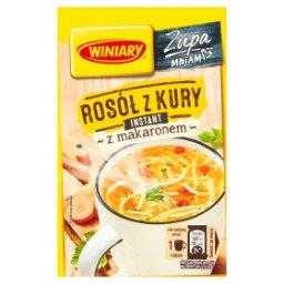Zupa instant rosół z kury z makaronem