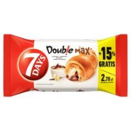 Doub!e Max Croissant z nadzieniem o smaku kakaowym i waniliowym