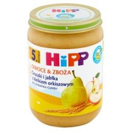 BIO Owoce & Zboża Gruszki i jabłka z kleikiem orkisz...