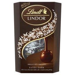 Lindor Extra Dark Pralinki z czekolady gorzkiej z na...
