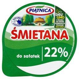 Śmietana do sałatek 22%