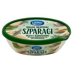Smak Sezonu Filety śledziowe w sosie śmietanowym ze szparagami