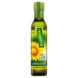 Olej ze słoneczników tłoczony na zimno