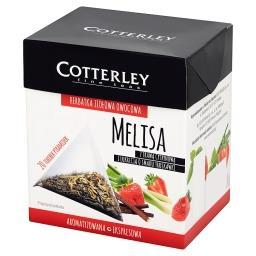 Herbatka ziołowa owocowa melisa z trawą cytrynową i ...