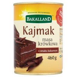 Kajmak masa krówkowa o smaku kakaowym