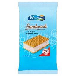 Sandwich o smaku śmietankowym Lody