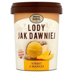 Lody jak dawniej Sorbet z mango