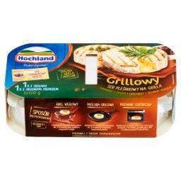 Grillowy ser pleśniowy Camembert z ziołami zielonym pieprzem i sos  (2 x 100 g + 65 g)