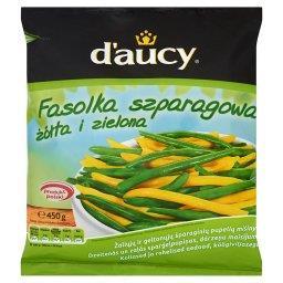 Fasolka szparagowa żółta i zielona