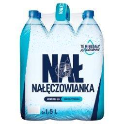Naturalna woda mineralna niegazowana 6 x 1,5 l