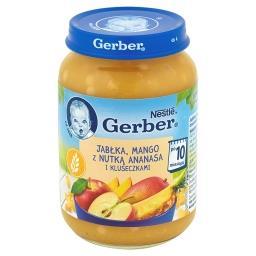 Jabłka mango z nutką ananasa i kluseczkami po 10 miesiącu