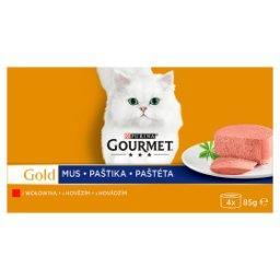 Gold Karma dla kotów kolekcja musów z wołowiną 340 g