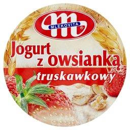 Jogurt z owsianką truskawkowy