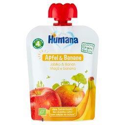 100% Organic Mus jabłko & banan po 4. miesiącu