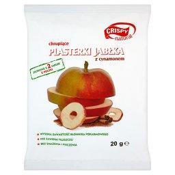 Chrupiące plasterki jabłka z cynamonem 20 g