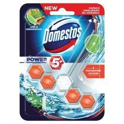 Power 5+ Lime & Cedarwood Kostka toaletowa
