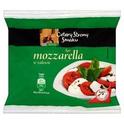 Ser mozzarella w zalewie