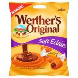 Soft Eclairs Miękkie cukierki karmelowe z nadzieniem czekoladowym