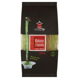 Makaron z tapioką i zieloną herbatą