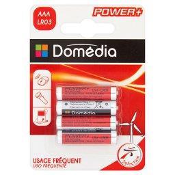 Baterie alkaliczne AAA LR03 1,5V 4 sztuki