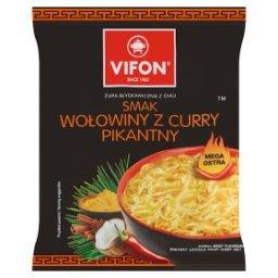 Zupa błyskawiczna smak wołowiny z curry pikantny