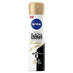 Black&White Invisible Silky Smooth Antyperspirant w aerozolu